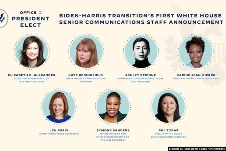 Biden Names Historic All-Female Communications Team