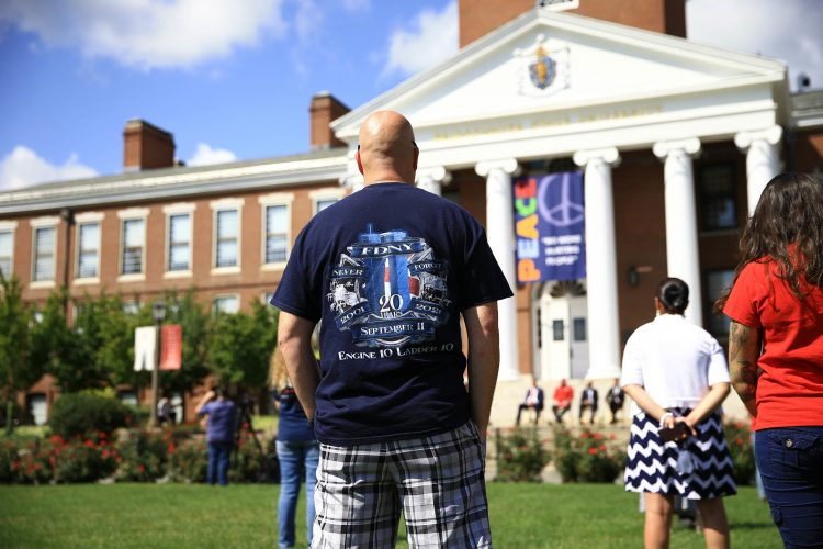 BSU Remembers The 20th Anniversary of 9/11